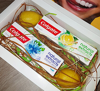 Zubné pasty Colgate Natural Extracts Ultimate Fresh & Radiant White